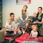 Ode aan vierling-ouders Anne en Alex van 'Een huis vol'