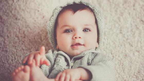 Baby versus dreumes