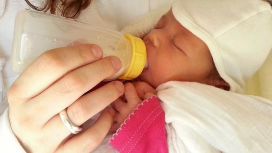 baby kolven melk fles